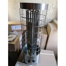Электрокаменка ЭКМ 6 кВт  «Комфорт LUX Плюс» со встроенным терморегулятором и таймером