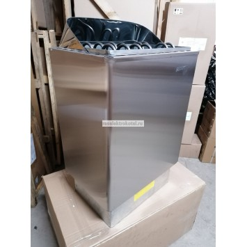 Электрокаменка ЭКМ 1-12 кВт LUX (нерж.)